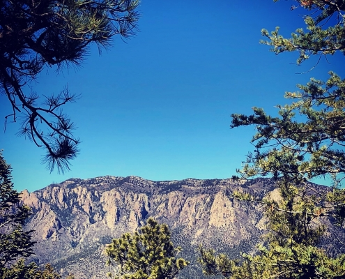 Sandia Mountains in Albuquerque, NM