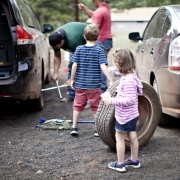 Flat tire - Can you put on a spare?