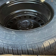 Change a tire - use a spare